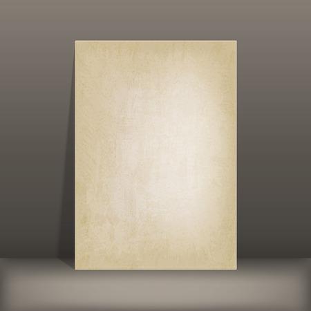 old background: grunge paper card old background vector illustration.   Illustration