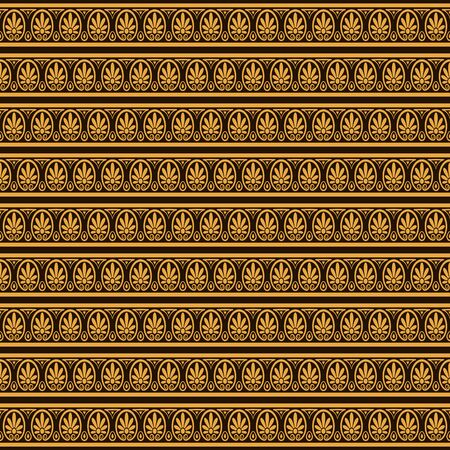 ancient roman: ethnic floral stylized pattern. vector illustration