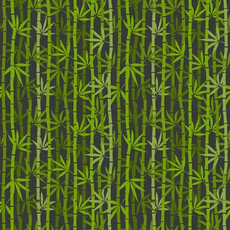 green bamboo: green bamboo seamless pattern. vector illustration - eps 8