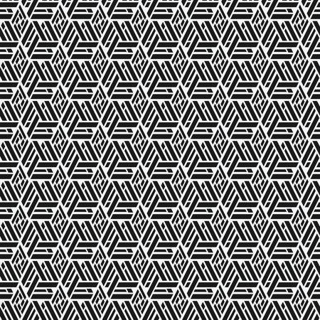 geometrical: monochrome geometric seamless pattern - vector illustration. eps 8
