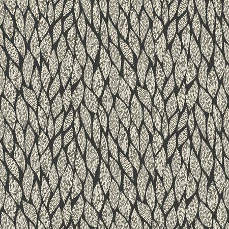 braids: weave braid seamless pattern. vector illustration - eps 8