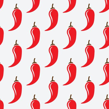 chilli pepper: chilli pepper geometric seamless pattern