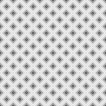 old square: grey rhombus geometric seamless pattern.