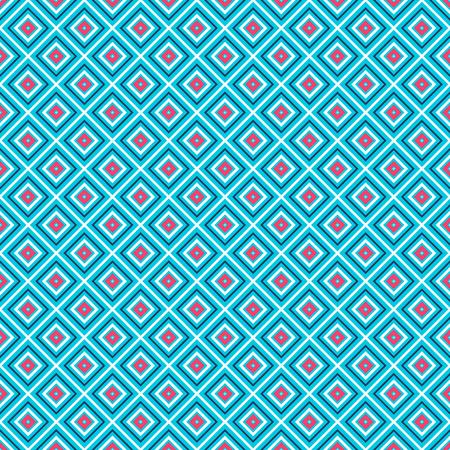 old square: vivid rhombuses seamless pattern.