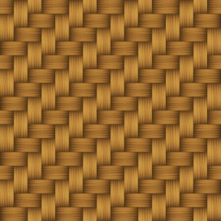 Decorative weave matting seamless pattern. Vector illustration