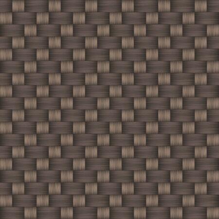 Decorative weave twill seamless pattern. Vector illustration Çizim