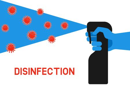 Home Disinfection Concept