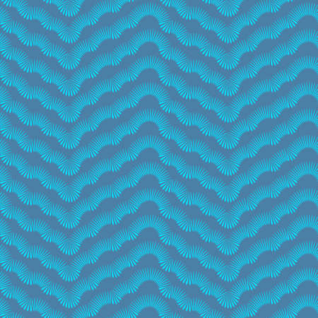 Winter Blue Frost Seamless Pattern. Vector Illustration Illustration