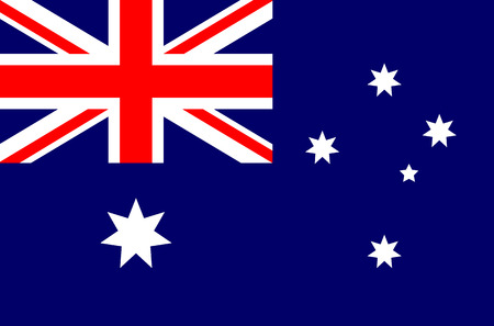 australia flag: Australia flag vector illustration