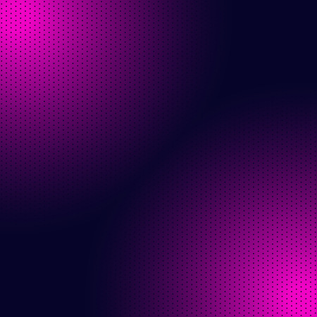 Gradient duotone background decorate with halftone pattern, vector illustration