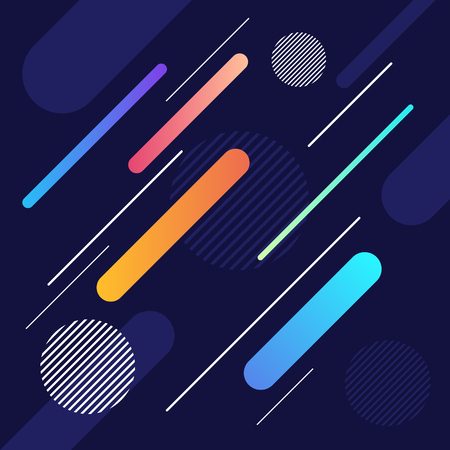 Abstract dynamic geometric shape and line pattern background. Design element template can be used for backdrop, banner, brochure, leaflet, publication, vector illustration