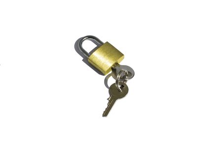 lock and key: lock and key Stock Photo
