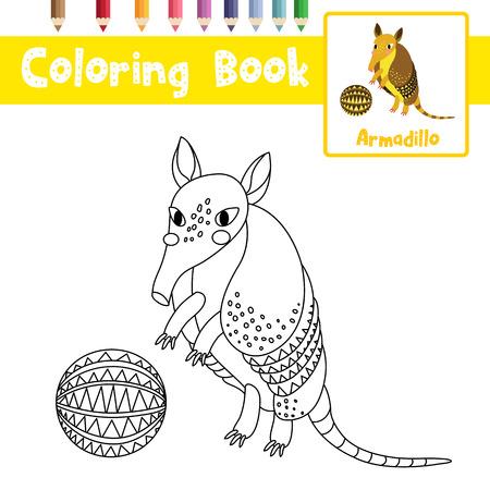 Dibujo Para Colorear Hormiga De Fuego Con Animales De Sombrero Negro ...