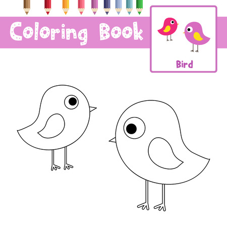 Dibujo Para Colorear Animales De Hippopotamus De Pie Para Niños ...
