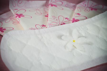 personally: Sanitary pad package for woman hygiene protection