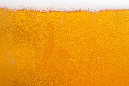 condensacion: fondo Textura de la cerveza