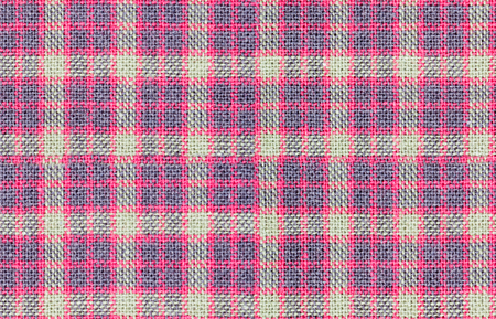 Seamless  brown red and violet checkered fabric texture