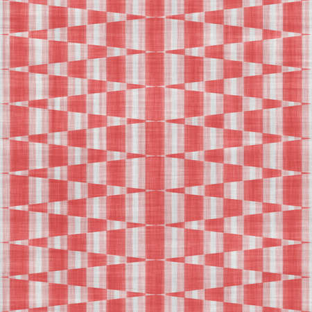 trapezium: Seamless red and white geometric texture