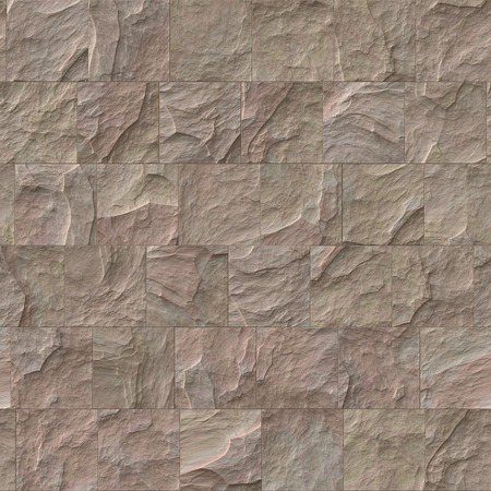 brick texture: Seamless brown stone brick texture illustration.