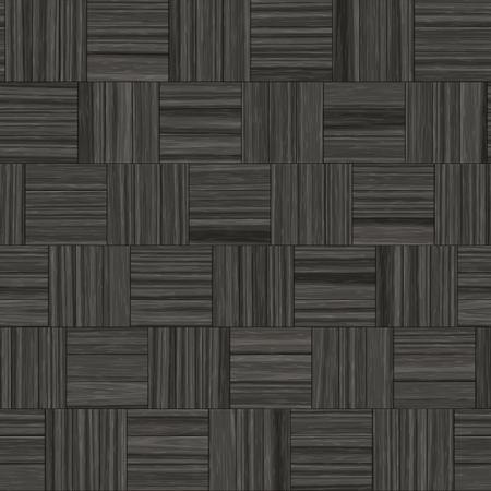 dark wood: Seamless dark wood parquet texture illustration.