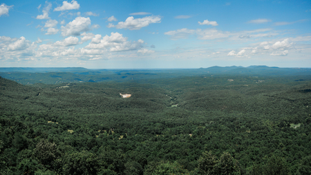 The view of forrest is from the Ozark National Forrest, Arkansas.