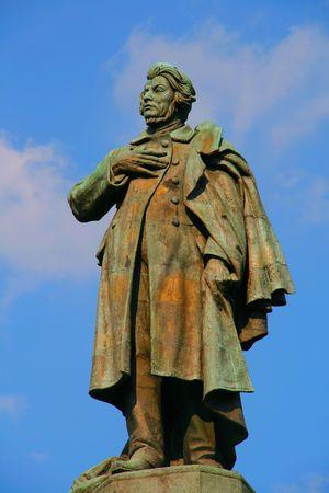 mickiewicz: Statue of Adam Mickiewicz in Warsaw, Poland