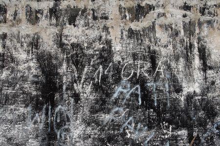 tatty: Shabby, tatty wall. Abstract background Stock Photo