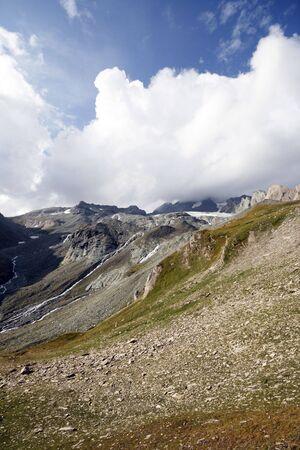 hohe tauern: Beautiful Alpine landscape of Hohe Tauern National Park in Austria Stock Photo