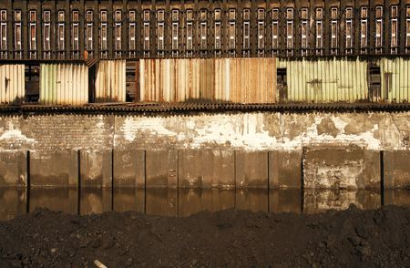 coking: Architectural detail of coking plant in Silesia - industrial district of Poland