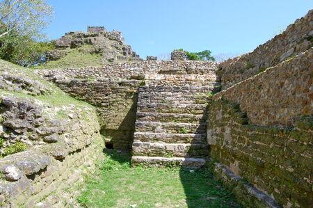 Shows Mayan ruins Stock Photo - 27008083