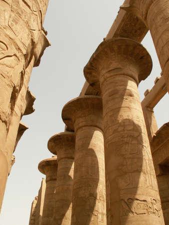 EGYPTE  KARNAK  ROOM HYPOSTYLE Imagens - 4925839