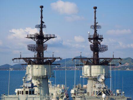 wojenne: Battle Ship radar Zdjęcie Seryjne