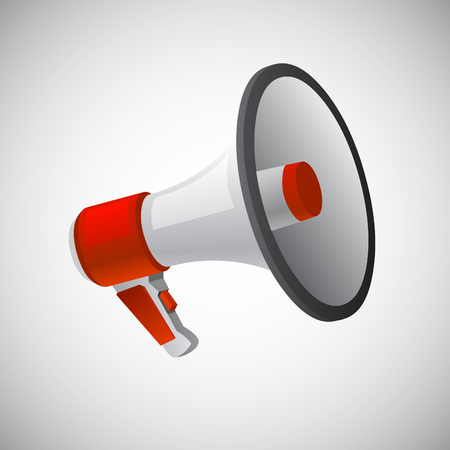 Loudspeaker or megaphone vector