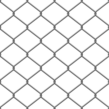 mesh: Steel Wire Mesh Seamless Background. Vector illustration