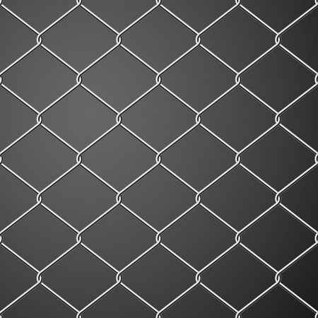 detain: Steel Wire Mesh Seamless Background. Vector illustration