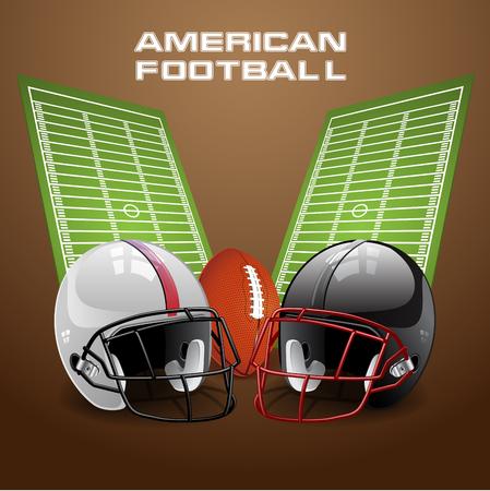 nfl helmet: Football, field with helmets