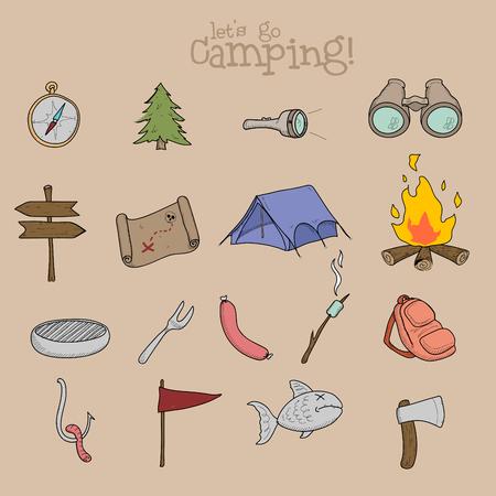 hiking: hiking vector icon illustration