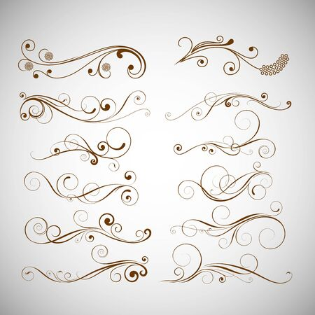 ornament vector sets