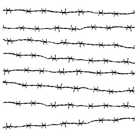 wire fence: Wire Fence Vector