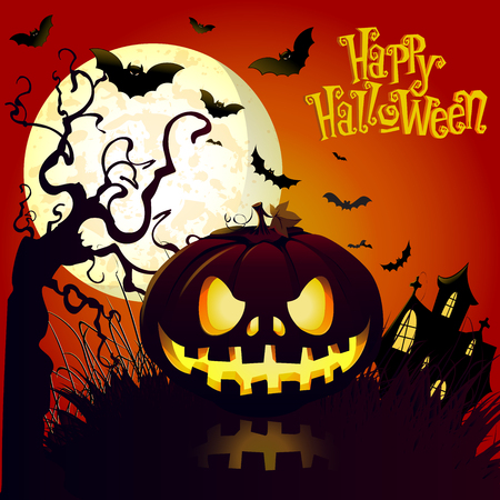 Haloween Vector Background
