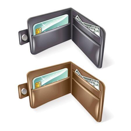 Wallet Vector illustration