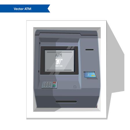 Street ATM Illustration