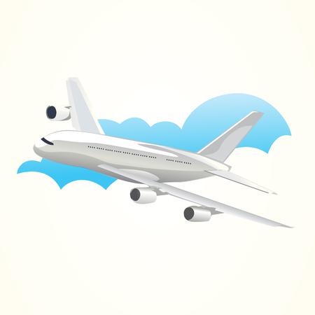 passenger plane: Plane Vector illustration Illustration