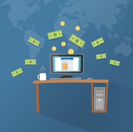 Online Income Stock fotó - 58879530