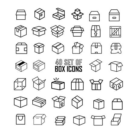 Box Icon Banco de Imagens - 58879575