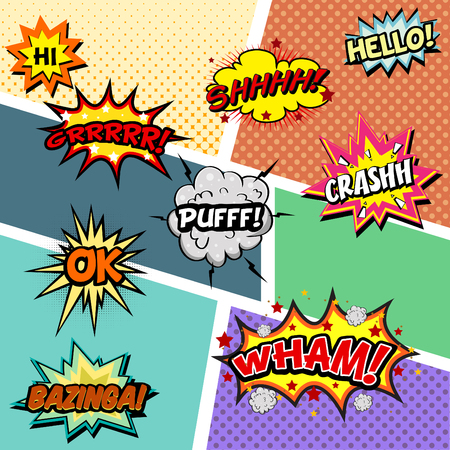 smack: Comic Effect Vector Illustration