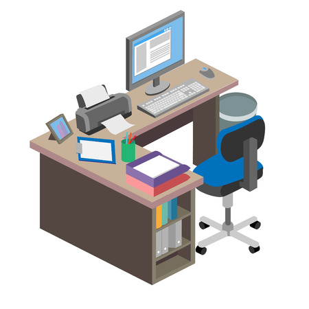 comfort classroom: Office Desk