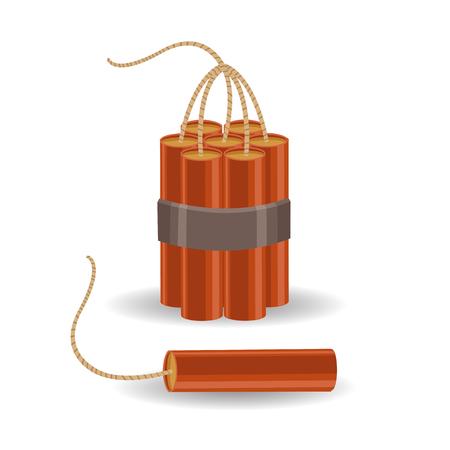 dinamita: Vector dinamita Vectores
