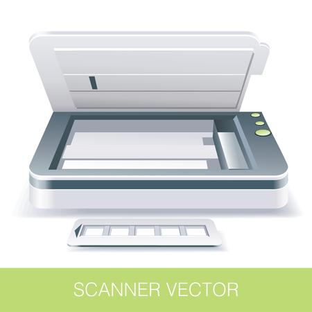 Opened Office Scanner
