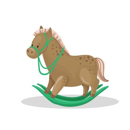 Legno vettore Cavallo Giocattolo